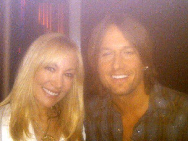 Lynn Bryant and Keith Urban
