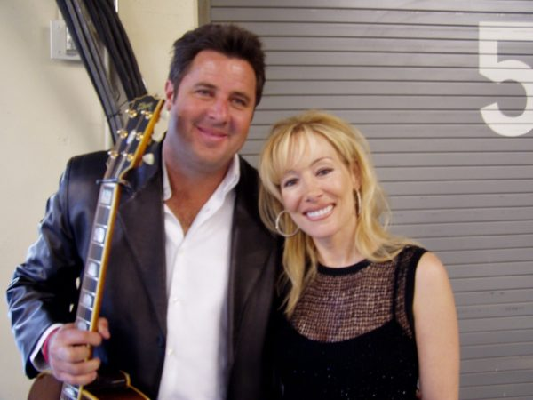 Lynn Bryant and Vince Gill