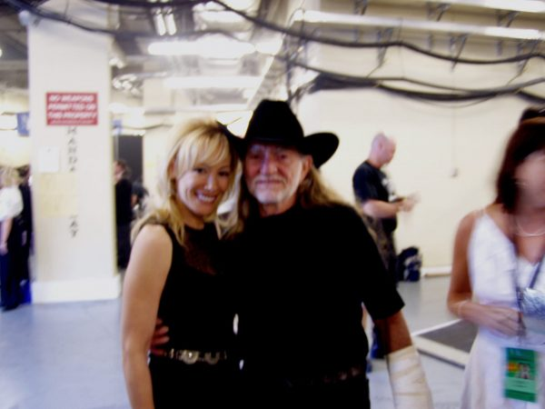 Lynn Bryant and Willy Nelson