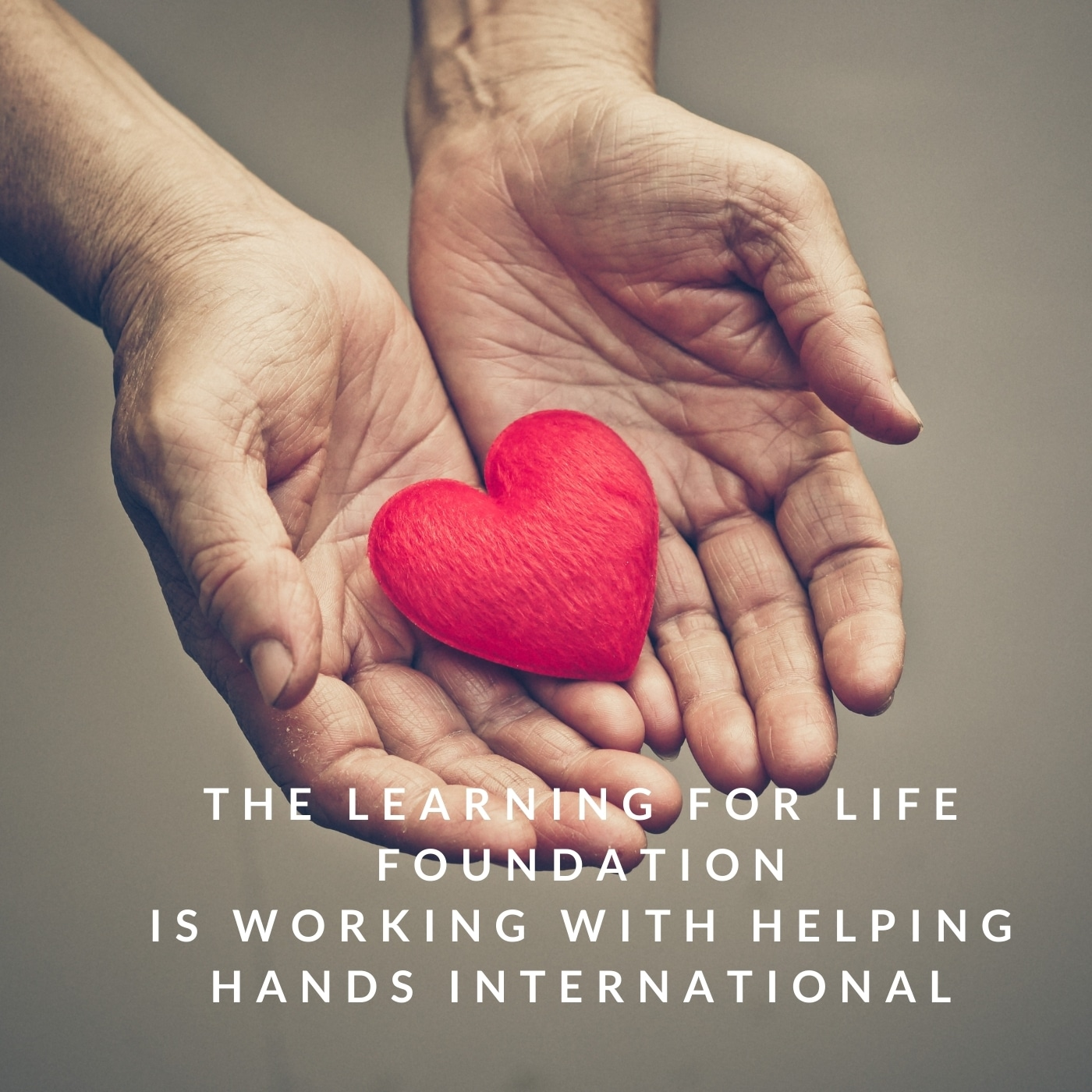 The Learning for Life Foundation is working with Helping Hands International to help gather supplies and much needed relief for the people of Haiti