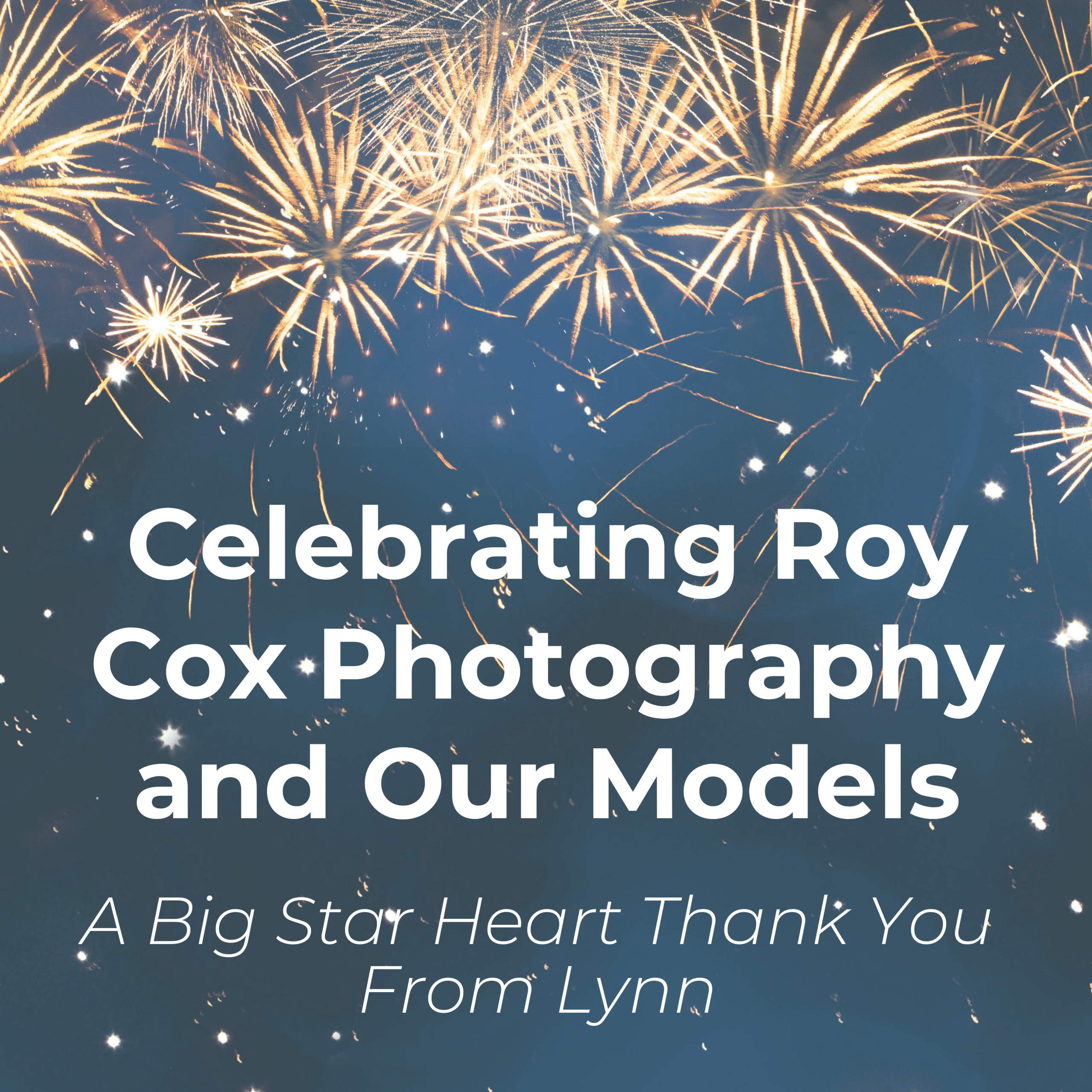 Celebrating Photographer Roy Cox and the models of Star Heart Collections