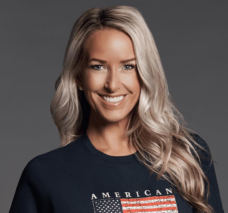 Star Heart American Made Flag Shirt
