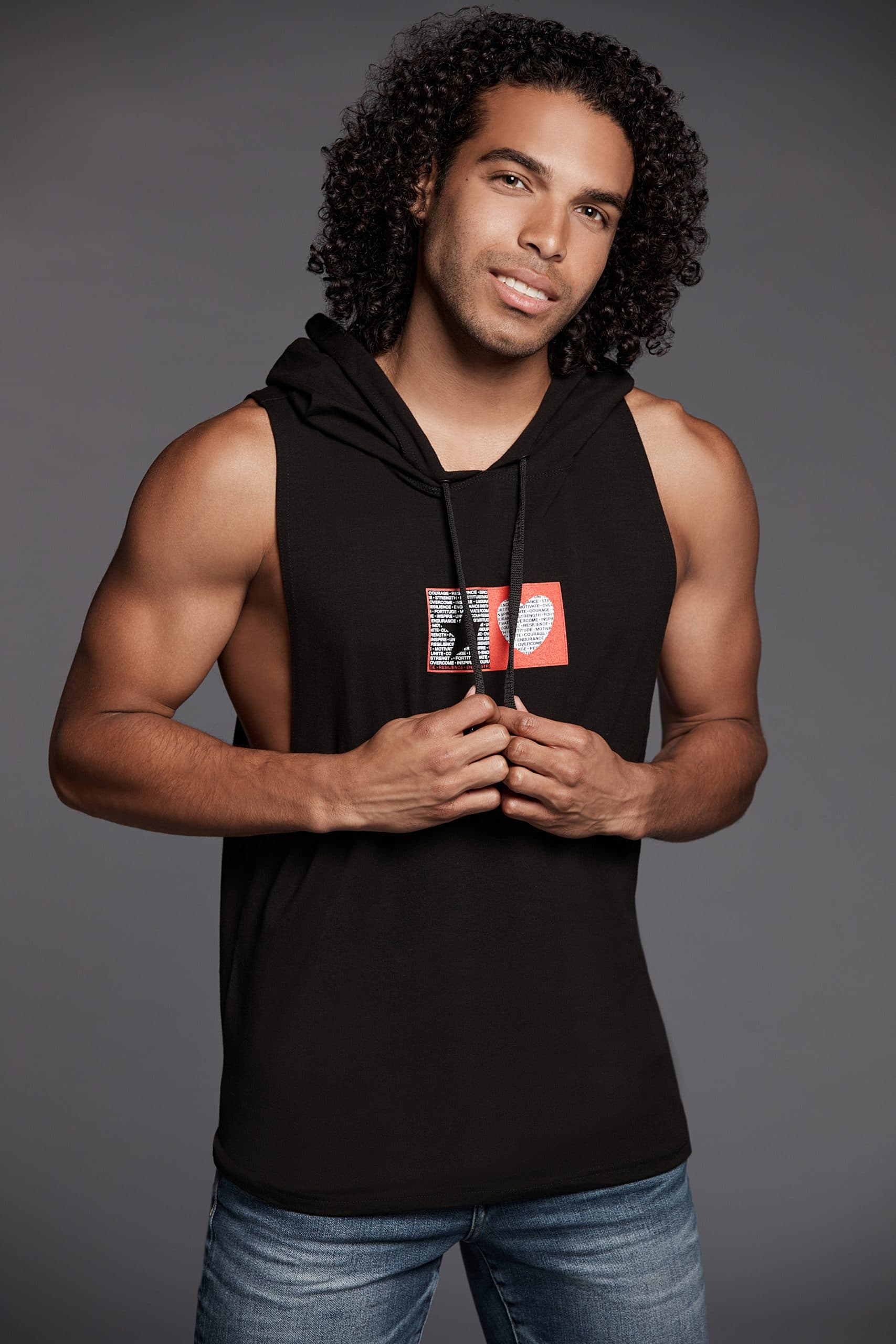 Star Heart Men's Empowerment Tank - Hooded