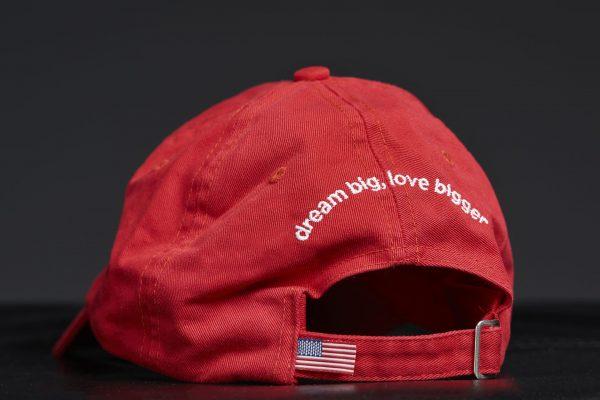 Star Heart Faith Hope Dreams Embroidered Baseball Cap